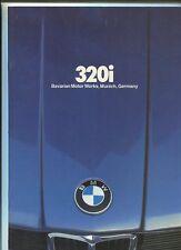 BMW 1980 320i   DEALER SALES BROCHURE  MBX8