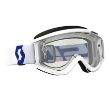 SCOTT USA RECOIL ADULT MOTOCROSS MX ATV UTV GOGGLE WHITE