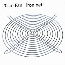 5pcs Lot 200mm Metal wire Fan Grill Finger Guard Protection For PC silvery 20cm