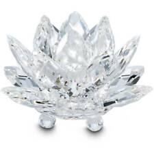 Swarovski Clear Crystal Figurine Waterlily Candle Holder, Small -11867 New