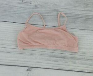 Old Navy Big Girls Training Sports Bra Size Large Pale Pink