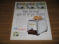 1953 Print Ad Toastmaster Super Deluxe Toasters McGraw Electric, Elgin,IL