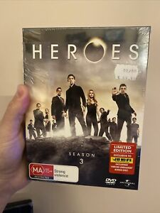 Heroes : Season 3 Limited Edition - TV Series - DVD - Brand New & Sealed