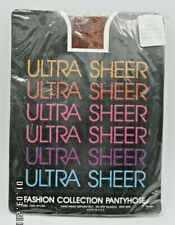 Nos Ultra Sheer Fashion Collection #2150 Rust pantyhose one size 100-160Lbs
