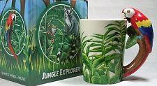 Ceramic Mug Macaw in Rain Forest 9319844520041 RAINFPARM NEW in Box