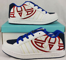 Boy's Or Women's ANIMAL Trainers, White & Blue, UK Size 6, New & Boxed.