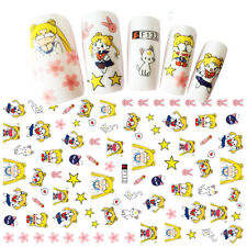 Japanese Anime Sailor Moon 3D Nail Art Stickers for Gel Polish Manicure 13*6cm