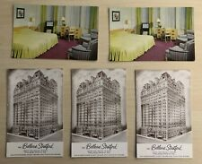 Lot of 5 The Bellevue Stratford Philadelphia Pennsylvania Vintage Postcards