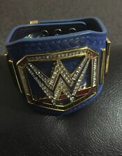 wwe Blue Universal championship belt, 12 Inch With Case. Roman Reigns Smackdown