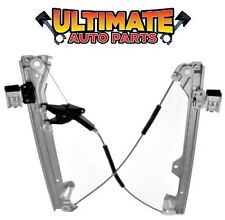 Rear Power Window Regulator Drivers LH No Motor for 07-14 Chevy Avalanche