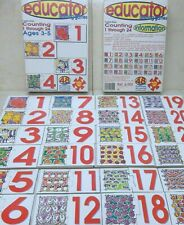 Counting Puzzle Game Educator Learning Game Count 1-24 Interlocking Educational