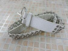 "Cintura da donna vintage WHTE dimensioni 95 cm 37"" well worn SKU N. AR547"