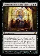 ENDLESS RANKS OF THE DEAD Innistrad MTG Black Enchantment RARE Zombie