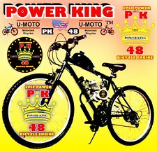 "DIY 48cc/66cc/80cc 2-STROKE MOTORIZED BIKE KIT +26"" MT BIKE POWER MOTOR BIKE NEW"