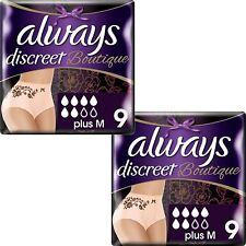 Always Discret Boutique Pants Plus Sous-Vêtements Medium Sensible Vessie - 18