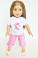 Spring Capri Set for American Girl Dolls 18 Inch Doll Clothes
