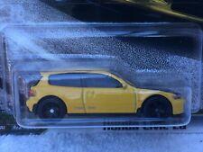 Hot Wheels-Fast & Furioso-Fast Sintonizadores-HONDA CIVIC EG 4/5 - GJR67 Como Nuevo