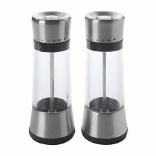 OXO Good Grips Lua Salt Mill Pepper Mill  Brand New 2 for £26 Read Description