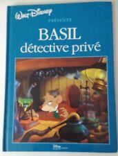 BASIL DETECTIVE PRIVE - DISNEY HACHETTE EDITION - COMME NEUF