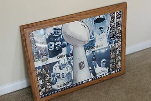 Indianapolis Colts Super Bowl XLI Playoff Showcase Framed Poster - 2006-2007