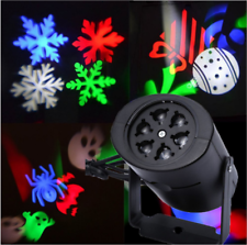 Proiettore Luce Natale Laser Light LED Addobbi Natalizi Fiocco Di Neve Xmas Luci