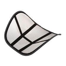 Mesh Lumbar Back Brace Support Chair Cushion Seat Waist Pillow Posture Corr T8V2