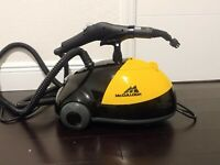 McCulloch MC 1275 Heavy Duty Steam Cleaner Extension Wands Scrub Pad Easy To Use