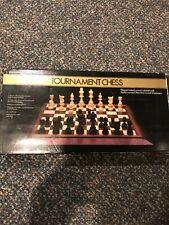 Pressman Tournament Chess. 1986. Complete