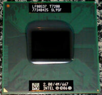 Processore Intel Core 2 Duo T7200 SL9SF LF80537 4 MB cache 667 MHz FSB Extreme R