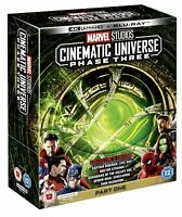 EBOND Marvel Cinematic Universe Phase 3 Part 1 BoxSet 4K ULTRA HD BLURAY D264001