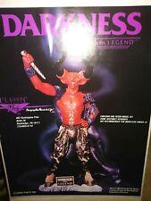 CLASSIC PLASTIC DARKNESS L.E. RESIN KIT w/BASE, LEGEND, UNIVERSAL, 1986 NEW, MIB