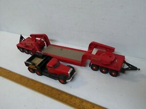 Corgi Heavy Haulage 31007 Annis & Co Ltd  Diamond T + Trailer  - used / unboxed