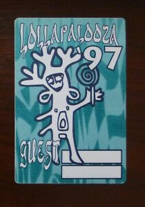 Lollapalooza Festival 1997 - Backstage Guest VIP Pass unbenutzt