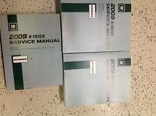 2009 GM Hummer H2 H 2 Service Repair Shop Workshop Manual Set FACTORY NEW