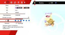 Slowbro Galar Ultra Shiny BR Pokemon Sword - Shield, Pokemon Spada - Scudo