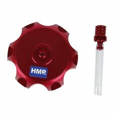hmparts Dirt bike Pit bike moto cross aluminium bouchon de réservoir Rouge