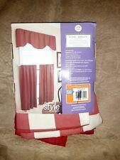 3 piece kitchen curtain set
