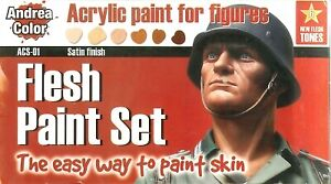 Flesh Paint Set - The Easy Way to Paint Skin