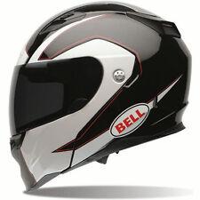 Bell Revolver EVO Modular Ghost Full Face Motorcycle Helmet LARGE Black