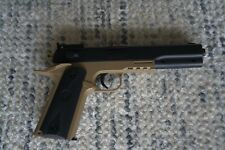 Airsoft Pistol Colt 1911 Brown / Black With Holster