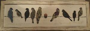 Birds Hanging Wall Decor