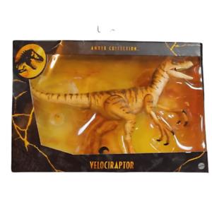 Mattel Tiger Raptor Amber Collection Jurassic Park UK New & MISB