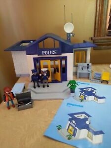 Playmobil Police Station 3165 Breakaway Jail With Accessories Vintage 1997