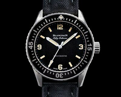 Blancpain Fifty Fathoms 38mm Bathyscaphe for HODINKEE BOX + PAPERS