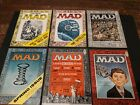 VINTAGE MAD MAGAZINES #25-30 (1955-1956) IN SUPERB CONDITION!! 6 EARLY MADS