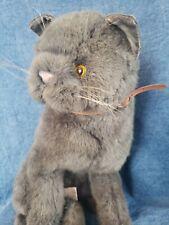 "New ListingVintage 1987 Applause Russian Blue Cat Avanti Plush Tags 13"" Stuffed Toy Animal"
