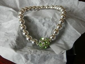 BROOKE STRETCH BRACELET. (PERIDOT).