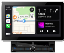 "2 DIN 10.1"" Media Receiver w/ Apple CarPlay & Android Auto Dual DMCPA11BT"