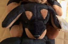 Ty Beanie Baby Dogs 3 Mint with Mint Tags, Doby the Doberman Pinscher