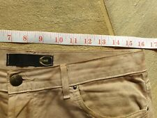 Just Cavalli Mens trousers 32' beige pattern slim fit.